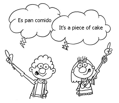 Modismos-español-inglés